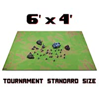 Large 6ft x 4ft Role Playing OpenフィールドBattleゲームマットwith 5ボーナス選択dice-スタイル。