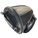 VISPREA シートバッグ シートカウル バイクバッグ バイク用 ポーチ リアシートバッグ ショルダー アウトドア 手提げ 多機能 大容量