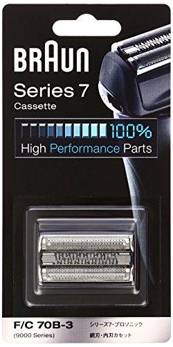 【正規品】 ブラウン シェーバー シリーズ7 網刃・内刃一体型カセット ブラック F/C70B-3