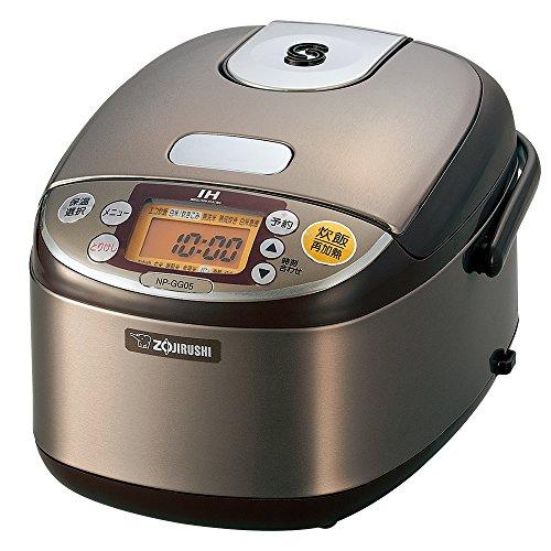 象印 炊飯器 IH式 3合 ステンレスブラウン NP-GG05-XT