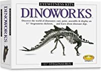 Skullduggery Eyewitness Kit Dinoworks Stegosaurus Skeleton Casting Kit [並行輸入品]