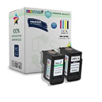 INKUTEN 2pk PG - 240X L CL - 241X Lリサイクルインクカートリッジ( 1BK、1C ) for Canon Pixma mx472452392512432522532459372374434439mg322035202220212041204122312221404220