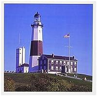 Montauk Lighthouse Long Island New York USA - Greeting Cards 6 x 6 inches set of 6 (gc_191712_1) [並行輸入品]