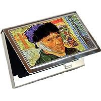 Self Portrait With Bandaged耳by Vincent Van Goghビジネスカードホルダー