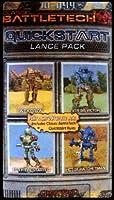 BATTLETECH 10-044 Quick Start Lance Pack