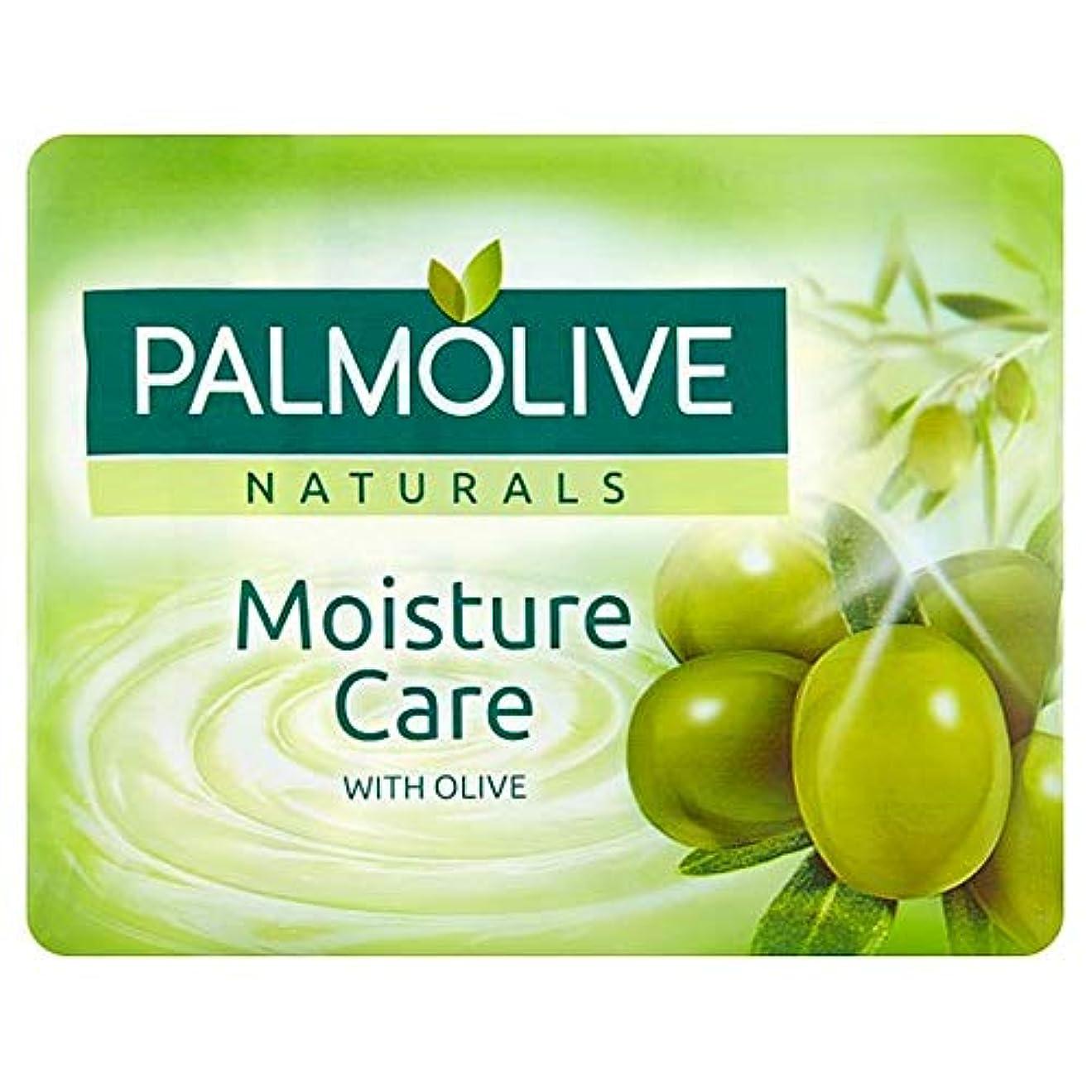 暴露側面導体[Palmolive ] パルモナチュラル水分ケア石鹸4×90グラム - Palmolive Naturals Moisture Care Bar Soap 4 X 90g [並行輸入品]
