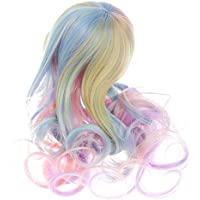 Fenteer ヘアピース ブライス人形かつら  ファンタジー 波状 巻き毛  かわいい ギフト 1/6ドール #3