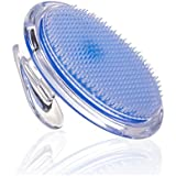 Exfoliating Brush - Body Brush for Legs Bikini Line Armpit - Ideal for Ingrown Hair Treatment - Eliminate Razor Bumps Fast - Body Exfoliator for Men and Women - Shaving Irritation Solution by SanDine