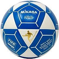 Mikasa ft5 Goal Master Soccer Ball、ホワイト/ブルー、サイズ5