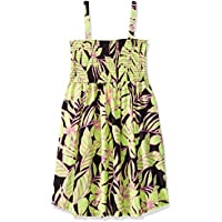 Maaji Girls' Printed with Smocking Short Tank Dress