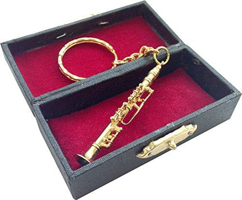 [해외]SUNRISE SOUND HOUSE 선 라이즈 사운드 하우스 미니어처 악기 금속 클라리넷 6cm/SUNRISE SOUND HOUSE Sunrise Soundhouse Miniature Musical Instruments Metal Clarinet 6 cm