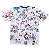 ディズニー リゾート 35周年 Happiest Celebration ! ヒストリー柄 Tシャツ (3L) ミッキー ミニー 他 半袖 洋服 服 ウェア リゾート 限定
