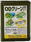 ユタカメイク #3000 ODグリーンシート 2.7m×3.6m OGS-05