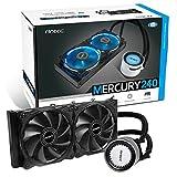 Antec Mercury CPUクーラー (274x119x27mm)  AMD Ryzen AM4対応の水冷一体型ユニット Mercury 240