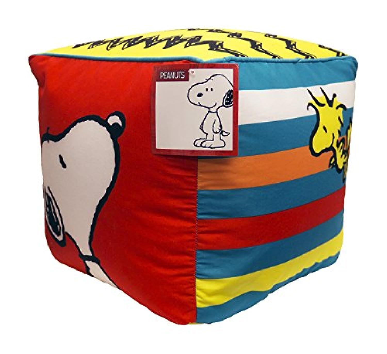 [ピーナッツ]Peanuts Classic 12 Kid's Bench/Chair/Seat/Pillow Soft Cube JF22894ECD [並行輸入品]