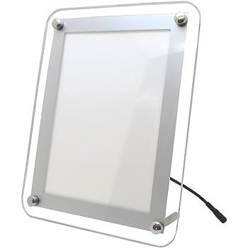 PASCAL LED ライトパネル A4角丸 ホワイト