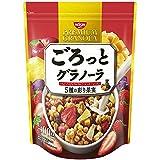 日清シスコ ごろっとグラノーラ 5種の彩り果実 400g×6袋