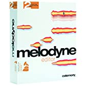 DNA技術によりポリフォニックオーディオ素材をMIDIのように編集できる、Celemony Melodyne Editor 2 【国内正規品】