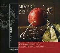 Duets for Violin & Viola K423