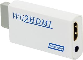 (クールリート) COOLEAD Wii to HDMIコンバーター、 HDMIビデオコンバーター HD HDTVアダプタ  [並行輸入品]