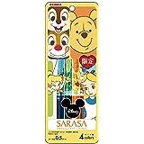 ゼブラ ジェルボールペン サラサクリップ ディズニー 4色セットB JJ29-DS-4C-B