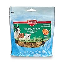 Kaytee Timothy Hay Baked Carrot Small Animal Treats, 4-Ounce by Kaytee