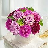 母の日ギフト フラワーアレンジメント 「ヴィオレボヌール」パープル系 日比谷花壇