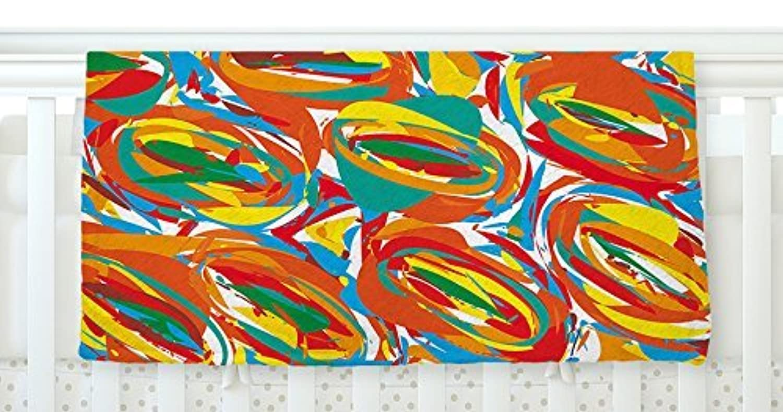 KESS InHouse Matthias Hennig Go Left Crazy Fleece Baby Blanket 40 x 30 [並行輸入品]