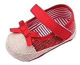 Amazon.co.jp(ビグッド)Bigood 可愛い 子供靴 女の子 赤ちゃん ベビー靴 フォーマル プレシューズ フラットシューズ 室内履き 出産祝い 結婚式 12cm レッド