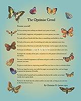 """壁アート印刷entitled The Optimistクリードby Doe Zantamata 11"""" x 14"""" 4226503_2_0"""