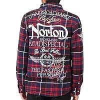 [ノートン] Norton シャツ 長袖 ベーシック チェック シャツ 183N1507