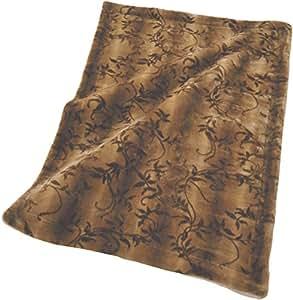 高級 毛布 シングル リアルファータッチ アクリル メランシカ使用 ボリュームタイプ 静電気防止 抗菌防臭加工 日本製