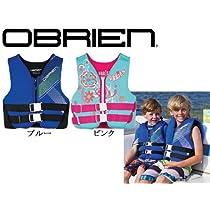 【子供用ライフジャケット】 OBRIEN(オブライエン)YOUTH(ユース)[color:ピンク]