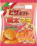 ピカルビー ザポテトこっくり明太マヨPizza味 60g