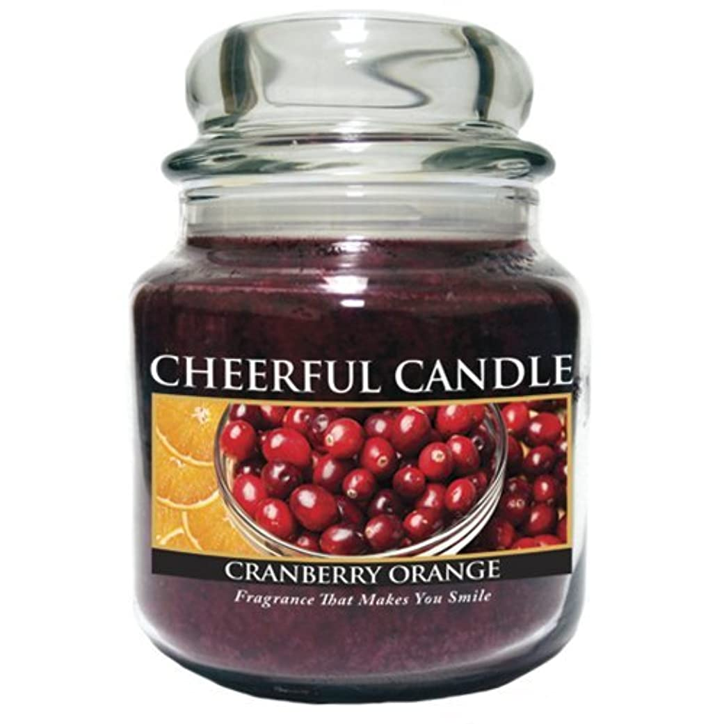 テクトニックシャックル避けるA Cheerful Giver Cranberry Orange Jar Candle, 24-Ounce by Cheerful Giver [並行輸入品]