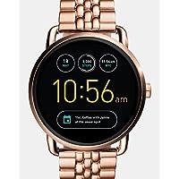 Fossil Q Wander Gen 2 Touchscreen Rose Gold-Tone Stainless Steel Smartwatch