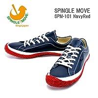 (スピングルムーヴ)SPINGLEMOVE spm101-79 スニーカー SPINGLE MOVE SPM-110/ Navy/Red LL27.5cm NavyRed
