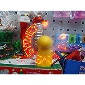 ミニハンディファン ハンディーミニファン 暑い夏の必需品   ミニ扇風機 LEDライト ピカピカ  jkr-fs0307(欠品)