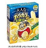 赤城乳業 大人なガリガリ君 レモン 56ml×6本×7箱