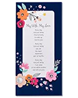 (My Love) - American Greetings My Love Mother's Day Card For Wife With Sequins (5856862)