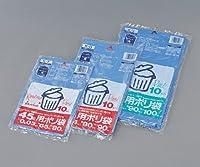 アズワン ゴミ袋 大 900X1000ブルー10枚入 / 1-4207-03