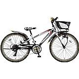 ブリヂストン(BRIDGESTONE) 子供用自転車 クロスファイヤージュニア ダイナモランプ CFJ06 シルバー&ブラック 20インチ