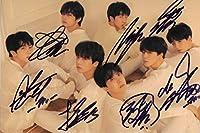 18.6 BTS 防弾少年団 「Love Yourself 'Tear'」全員直筆サイン入り 公式生写真 103 証明書付