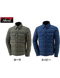 (ナンガ)NANGA ダウンシャツ NVY Lサイズ DST-8