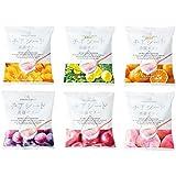 チアシード蒟蒻ゼリー 6種セット (アルフォンソマンゴー味・瀬戸内レモン味・有田みかん味・ぶどう味・もも味・りんご味)各1袋10個入り
