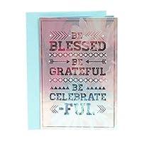 Hallmark Mahogany Birthday Greeting Card (When God Made You) [並行輸入品]