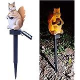 Uniprod LED Garden Lights - Solar Night Lights Squirrel Shape Solar-Powered Lawn Lamp - Waterproof, Energy Saving (Squirrel)