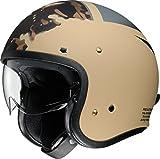 ショウエイ(SHOEI) バイクヘルメット ジェット J・O SEAFIRE (シーファイアー) TC-10 KHAKI/GREY L (59cm) -