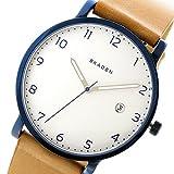 スカーゲン SKAGEN ハーゲン HAGEN クオーツ メンズ 腕時計 SKW6325 ホワイト/ライトブラウン