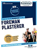 Foreman Plasterer (Career Examination)